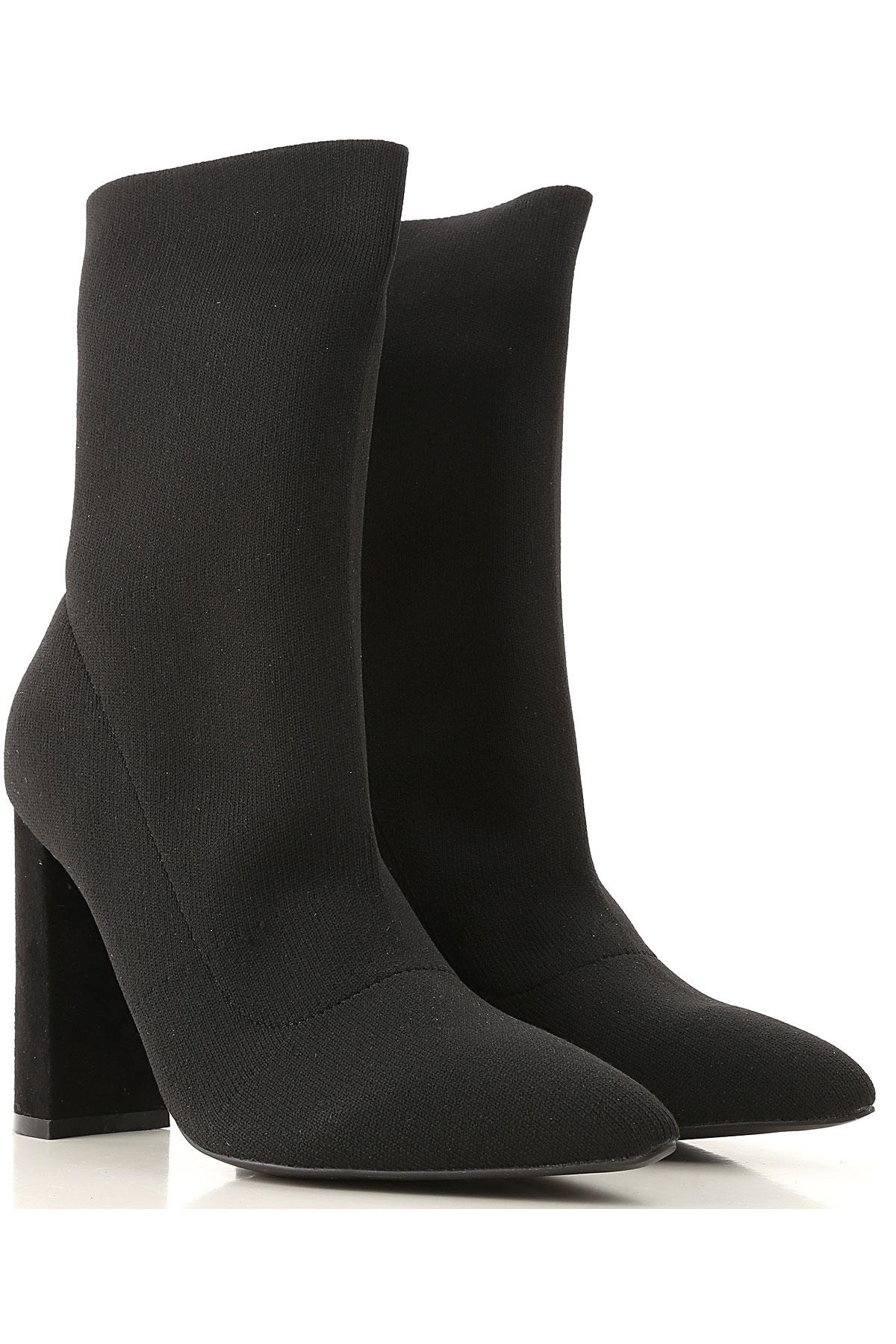 Kendall Kylie Boots for Women, Booties On Sale in Outlet, Black, Textile, 2019, US 10 (EU 41) US 7 (EU 38) US 9 (EU 40) US 8.5 (EU 39.5) US 6.5 (EU 37