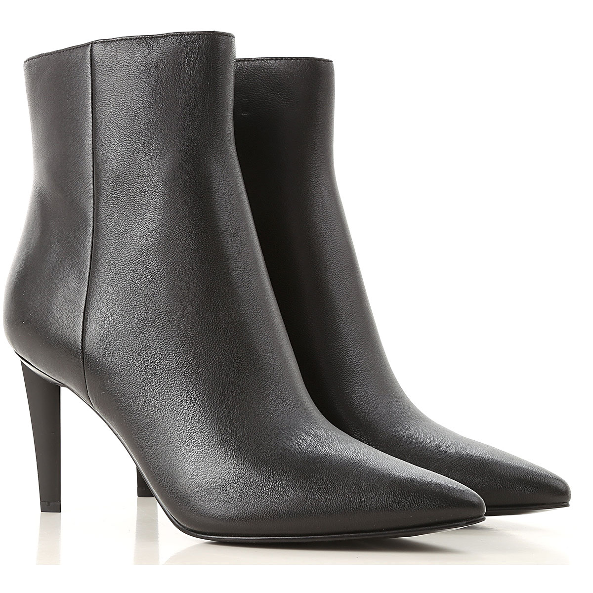 Kendall Kylie Boots for Women, Booties, Black, Leather, 2019, 6 7 9