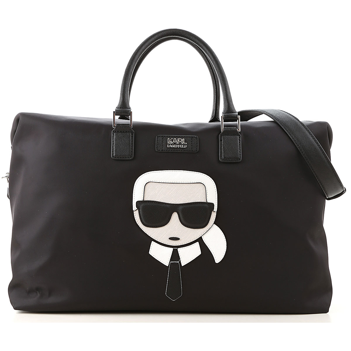 Karl Lagerfeld Weekenders On Sale, Black, polyamide, 2019
