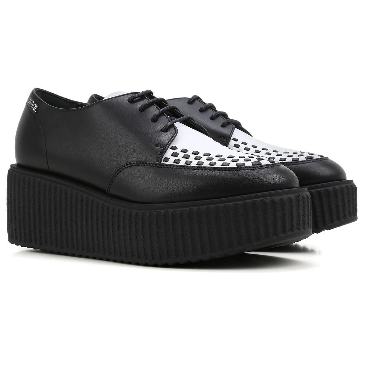 chaussures femme karl lagerfeld code produit 66kw4023 bianer. Black Bedroom Furniture Sets. Home Design Ideas