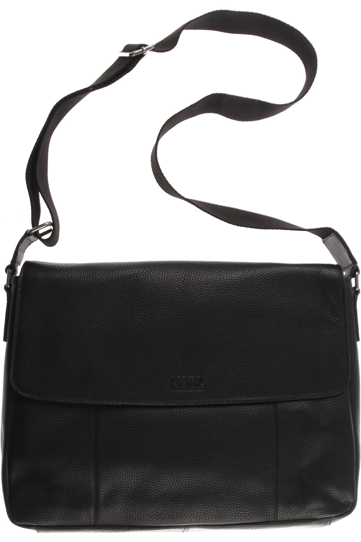 Karl Lagerfeld Briefcases On Sale, Black, Leather, 2019