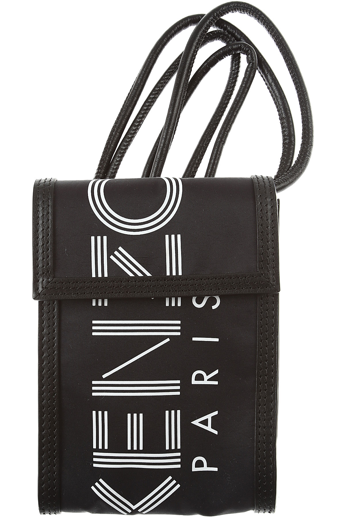 Kenzo Briefcases, Black, polyester, 2019