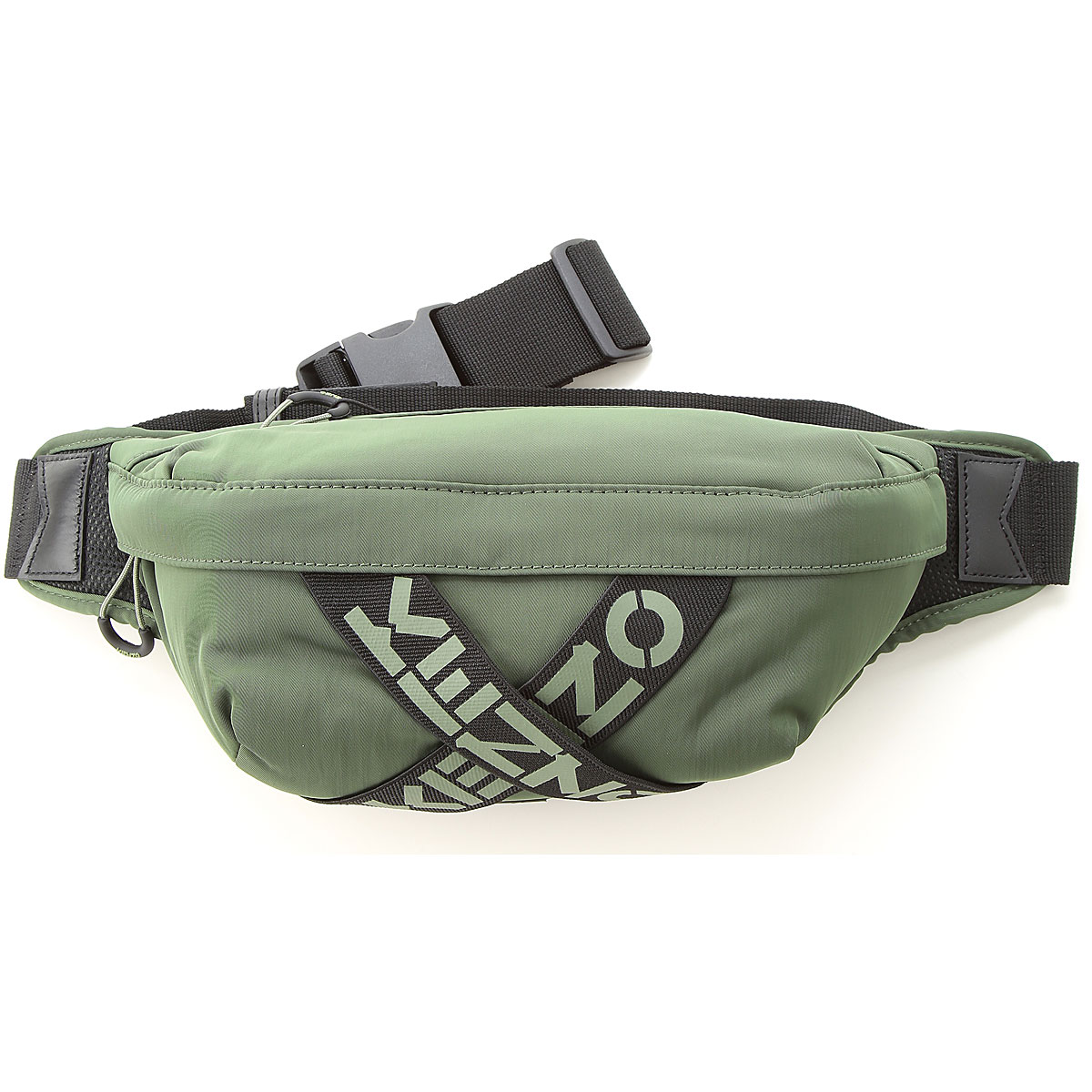 Kenzo Briefcases, Military Green, polyester, 2019