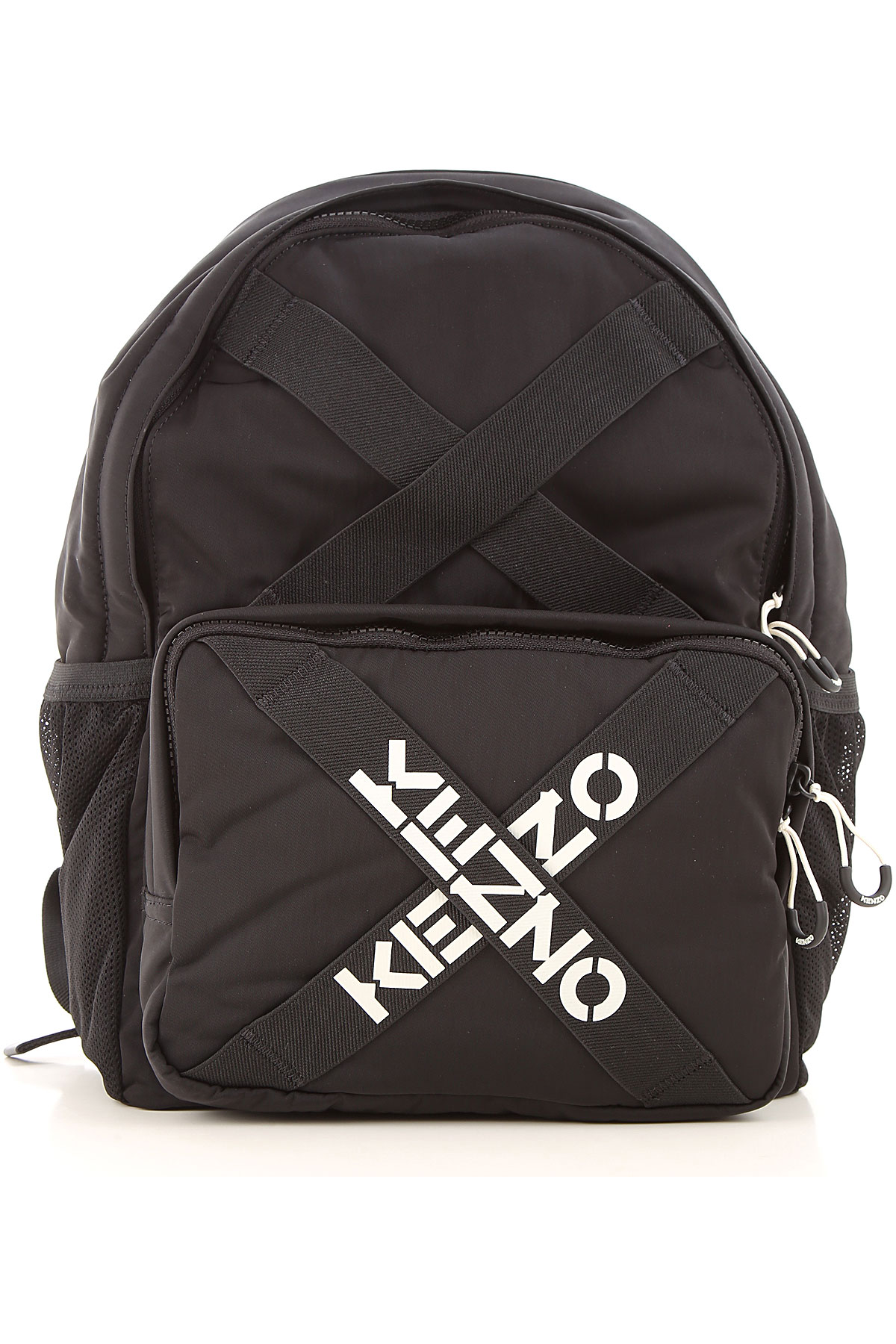 Kenzo Backpack for Men, Black, polyester, 2019
