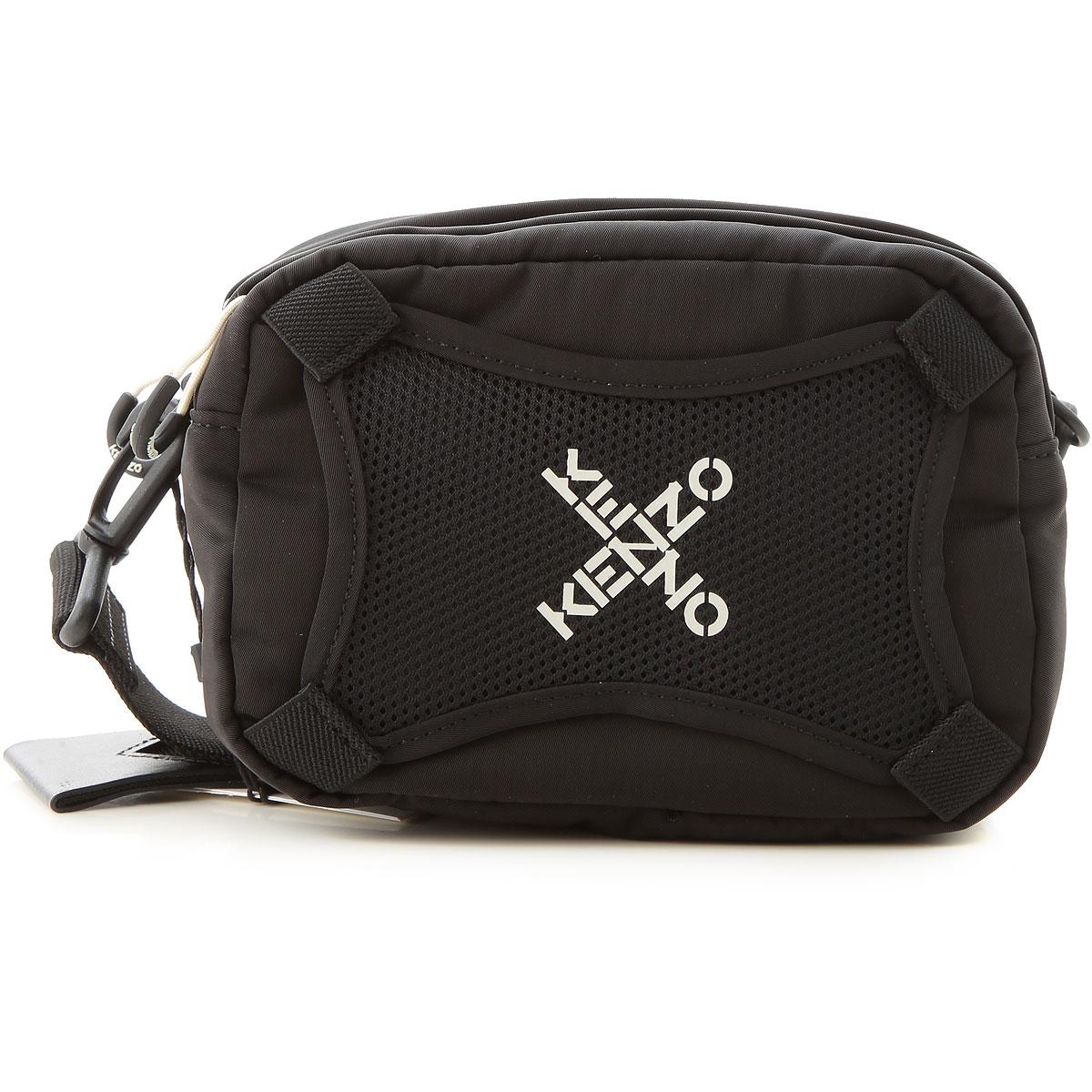 Kenzo Briefcases, Black, Nylon, 2019