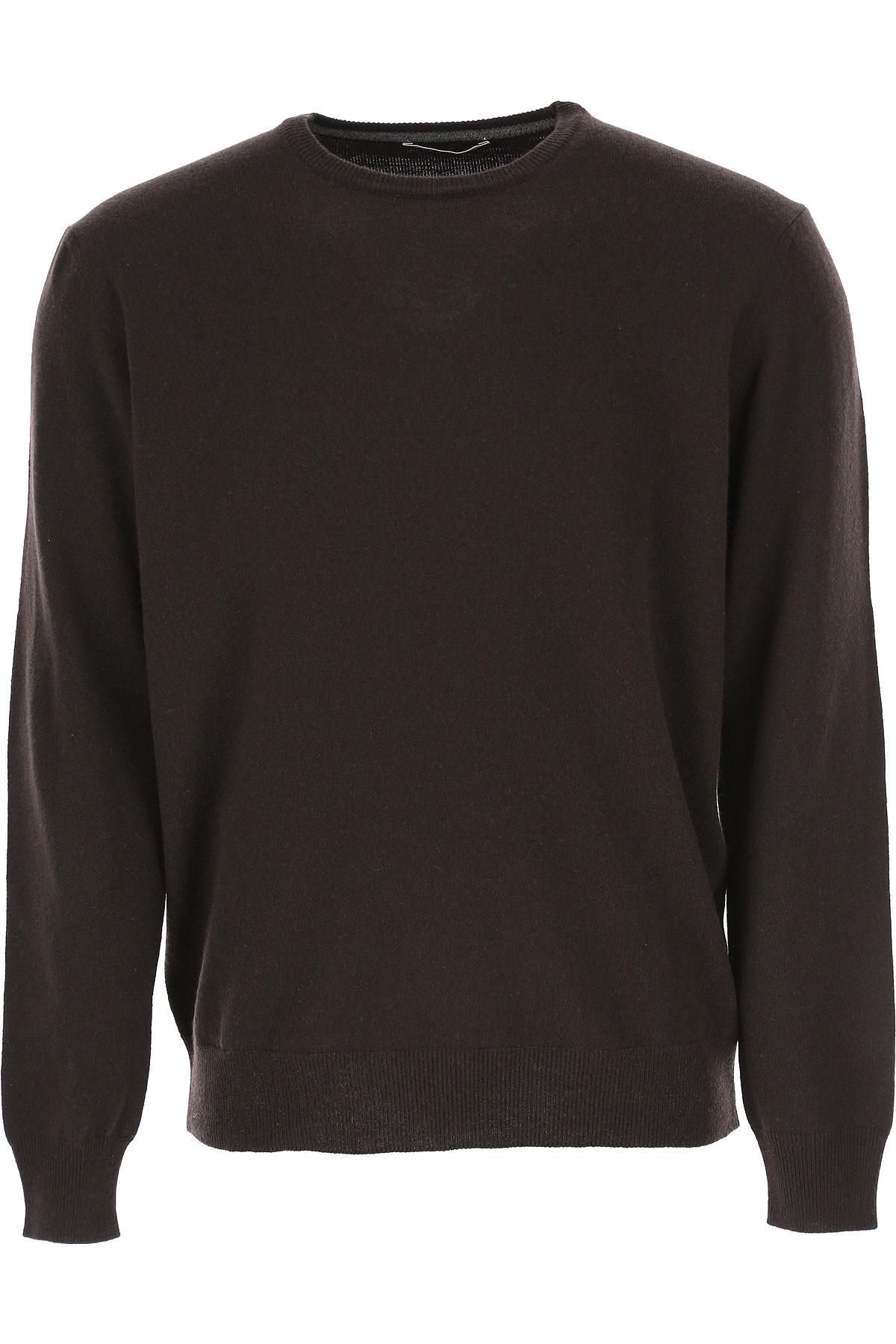 Kangra Sweater for Men Jumper On Sale, Ebony, Wool, 2019, L M S XL