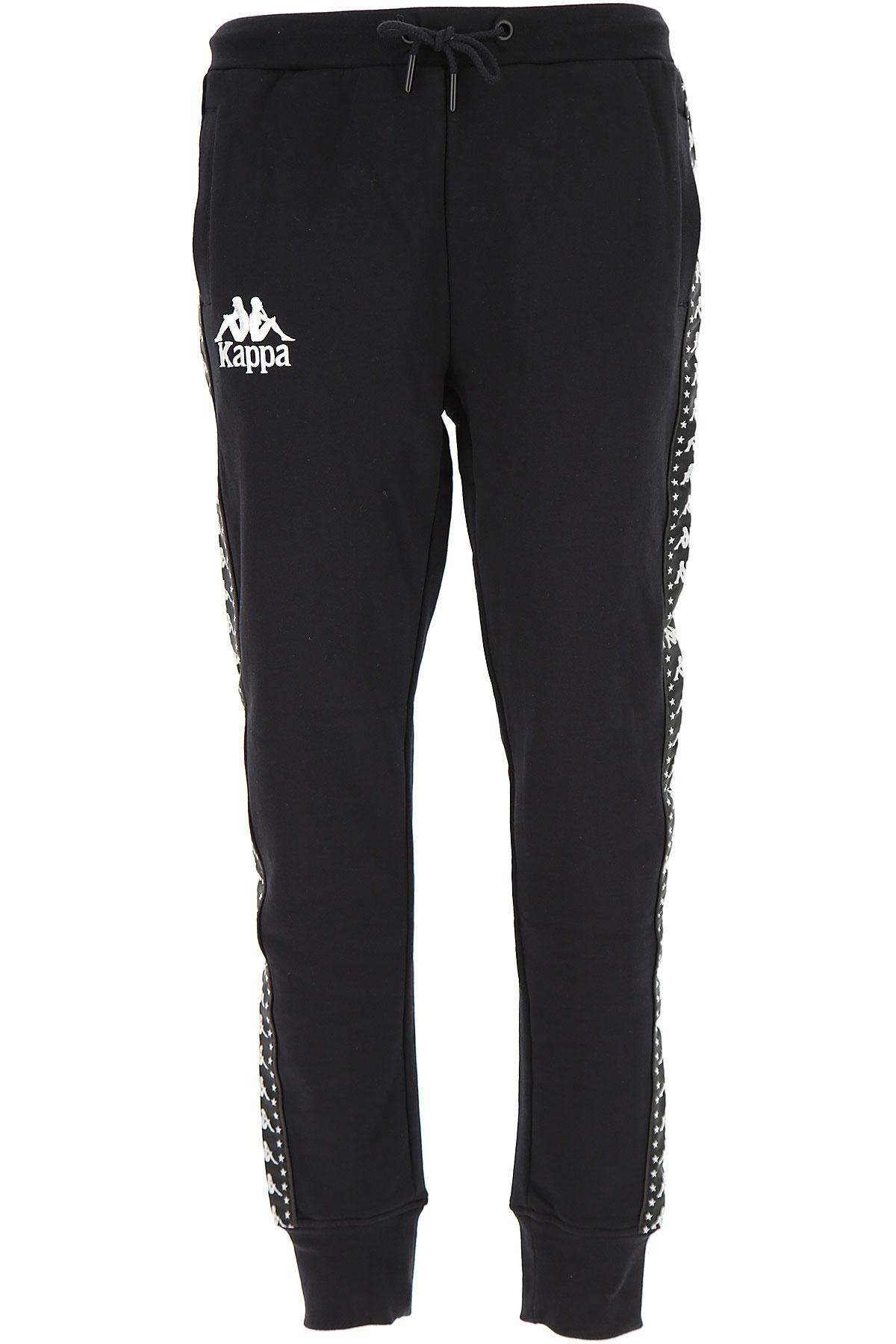 Image of Kappa Sweatpants, Black, Cotton, 2017, M XL