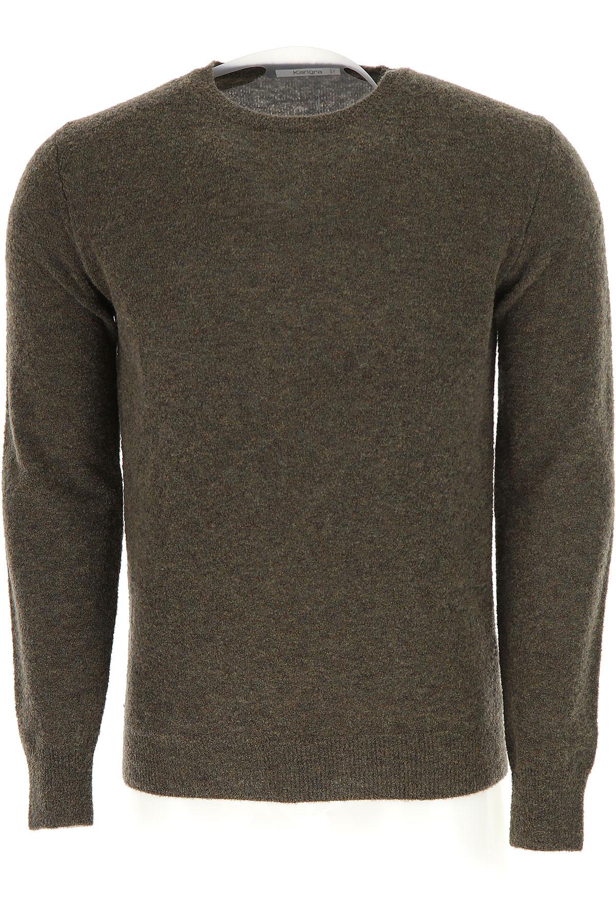 Image of Kangra Sweater for Men Jumper, Forest Green, Wool, 2017, 2 - Uk/Usa M - Ita 48 3 - Uk/Usa L - Ita 50 4 - Uk/Usa XL - Ita 52