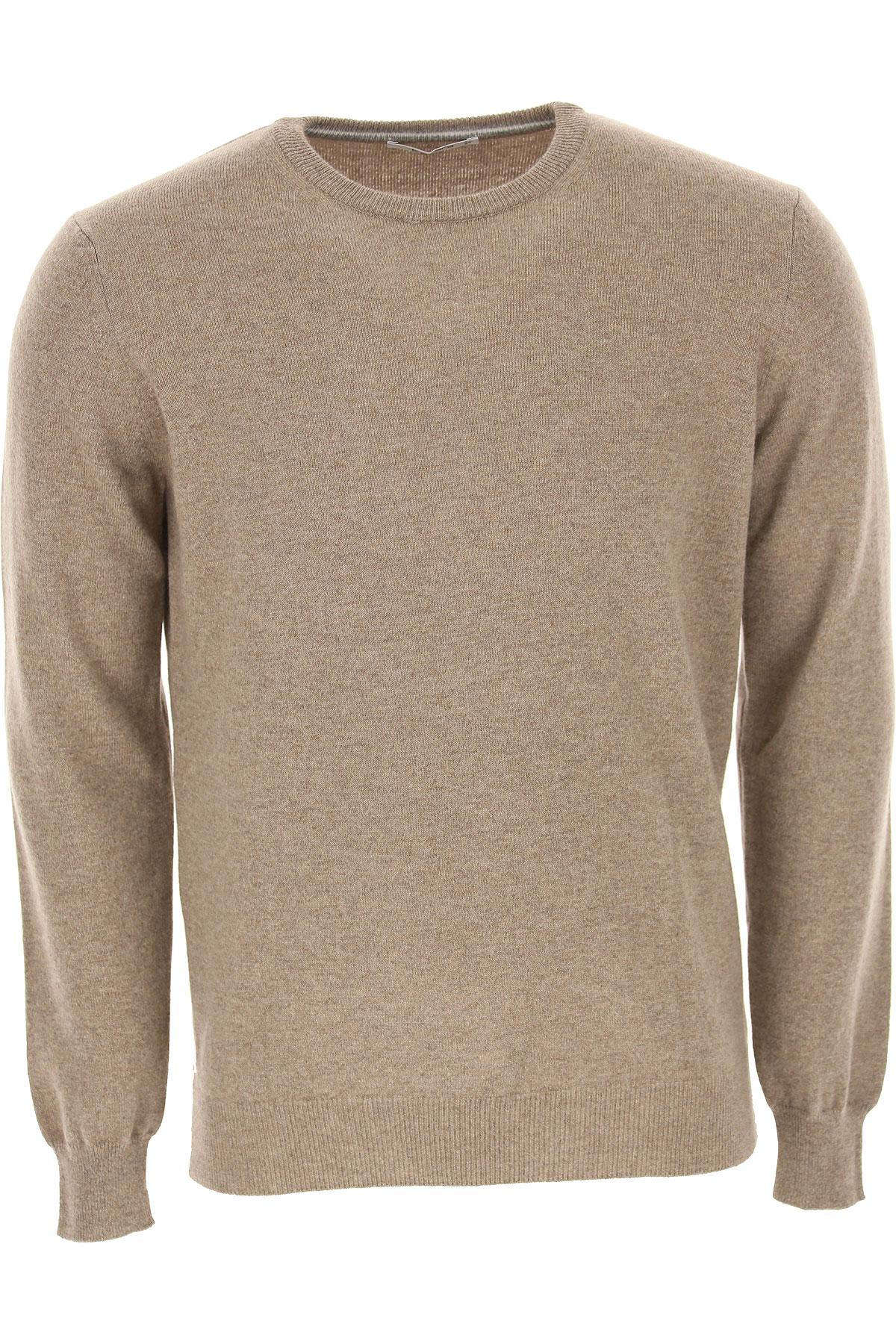 Kangra Sweater for Men Jumper On Sale, Tortoise, Cashemere, 2019, XL XXL