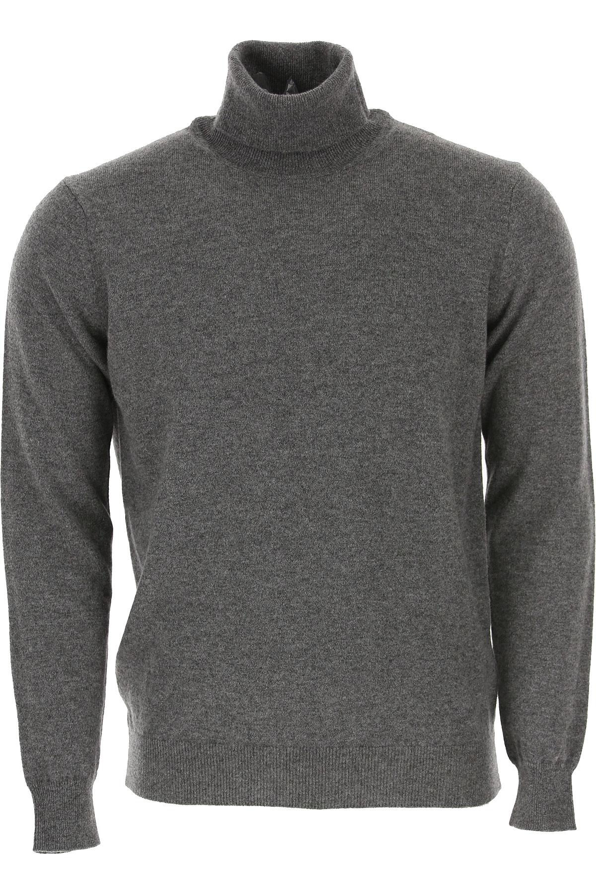 Kangra Sweater for Men Jumper On Sale, Grey, Cashemere, 2019, L M XL XXL