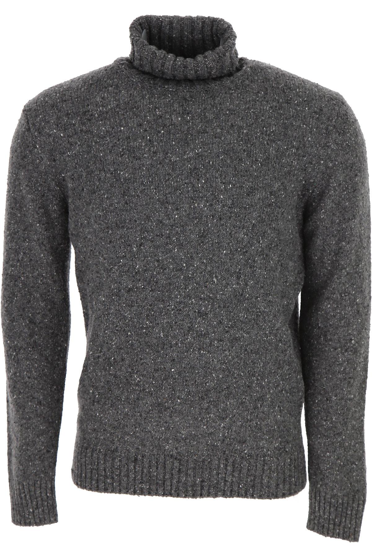 Kangra Sweater for Men Jumper On Sale, Medium Grey, Wool, 2019, L M XL XXL