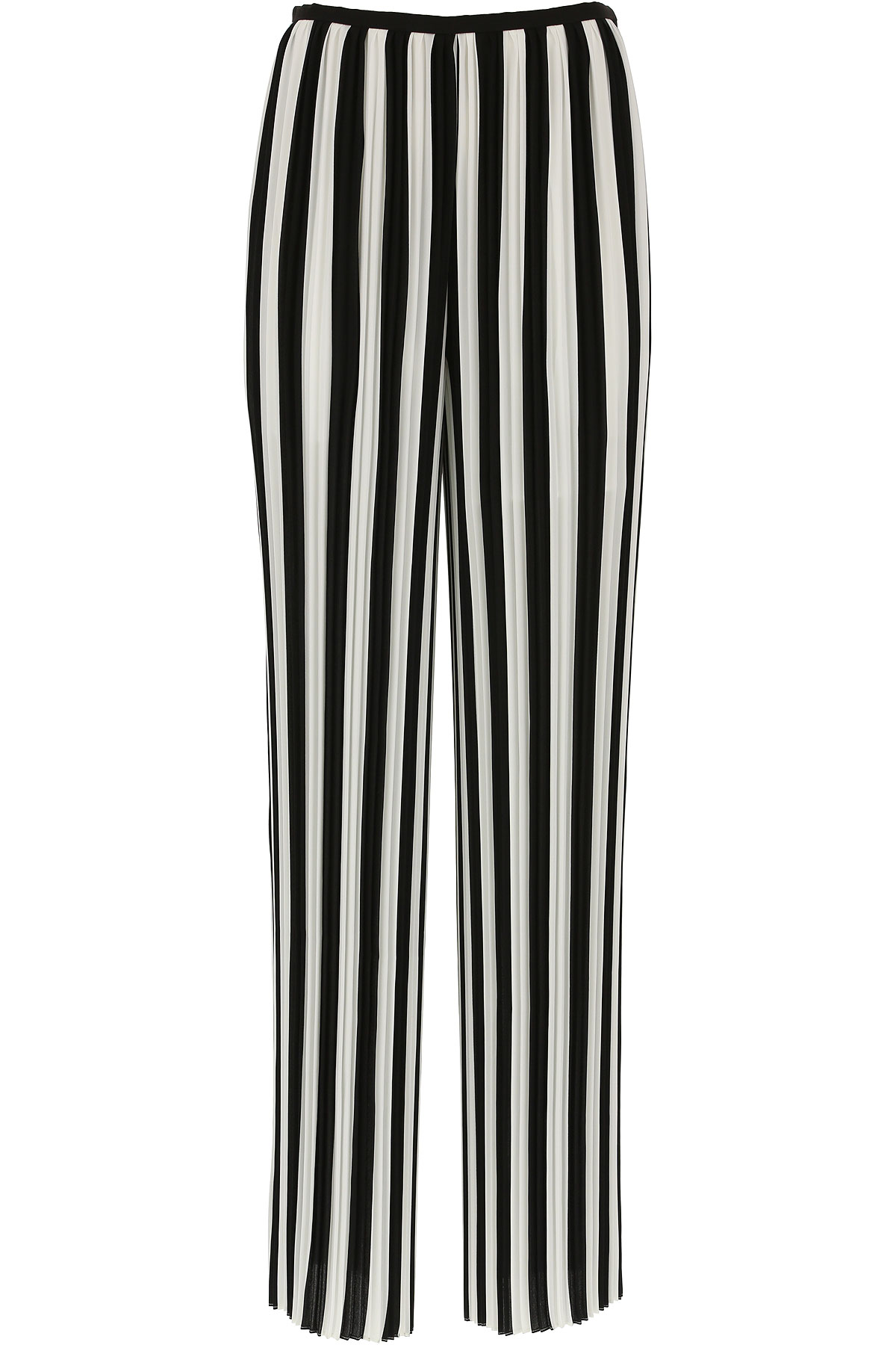 Image of Krizia Pants for Women, Black, polyester, 2017, 10 4 6 8
