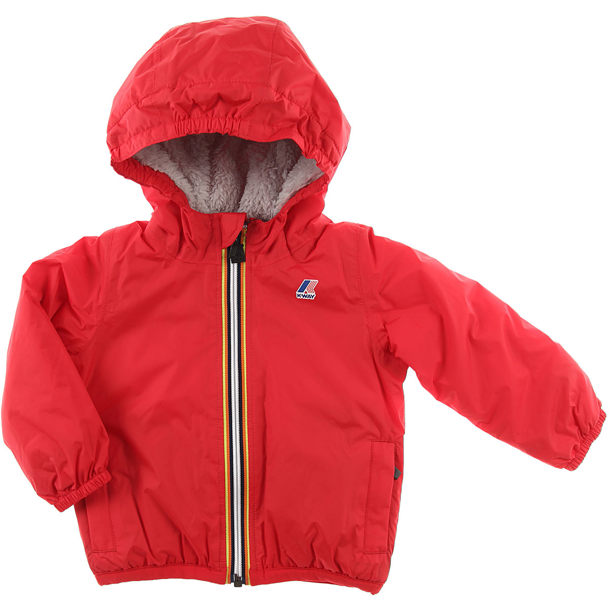 Image of K-Way Baby Down Jacket for Boys, Red, polyamide, 2017, 12M 18M 6M