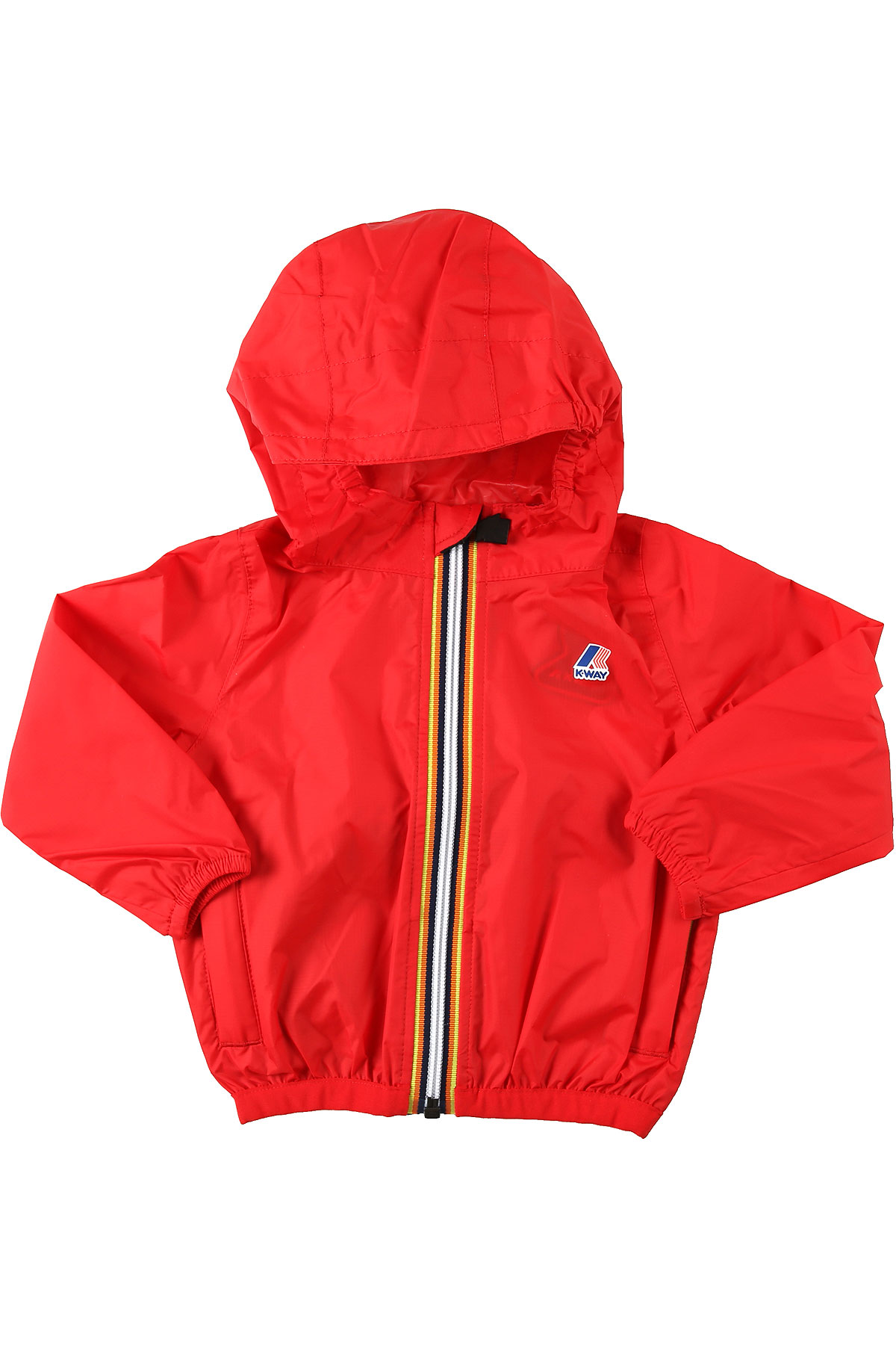 K-Way Baby Jacket for Boys On Sale, Red, polyamide, 2019, 12 M 2Y