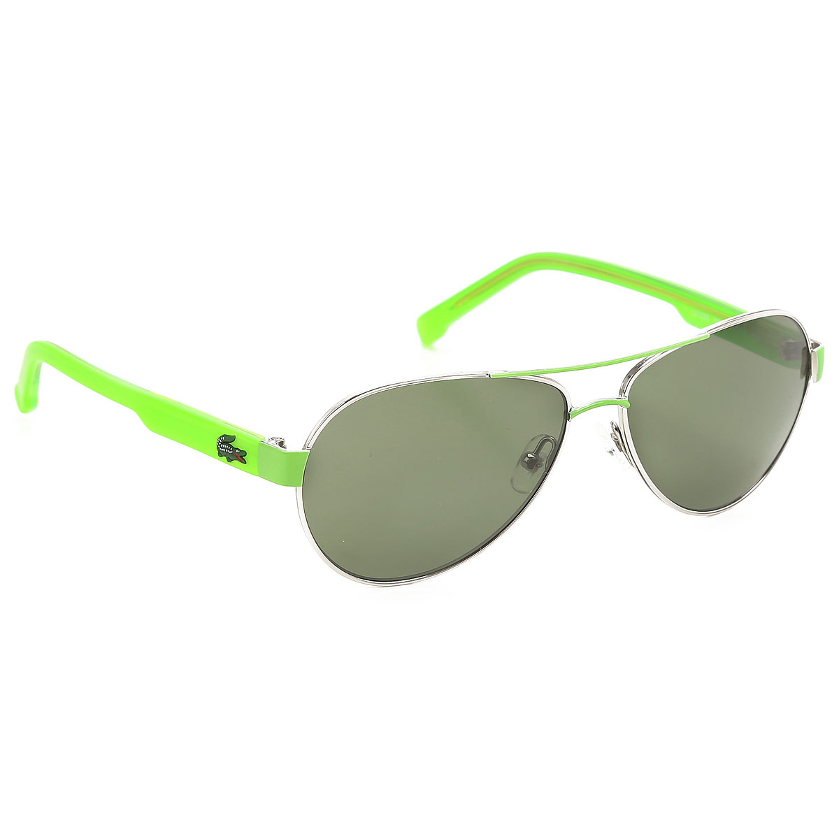 Image of Lacoste Kids Sunglasses for Boys On Sale, Silver, 2017