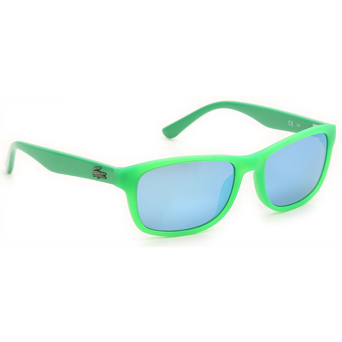Image of Lacoste Kids Sunglasses for Boys On Sale, Fluo Matt Green, 2017, One size one size