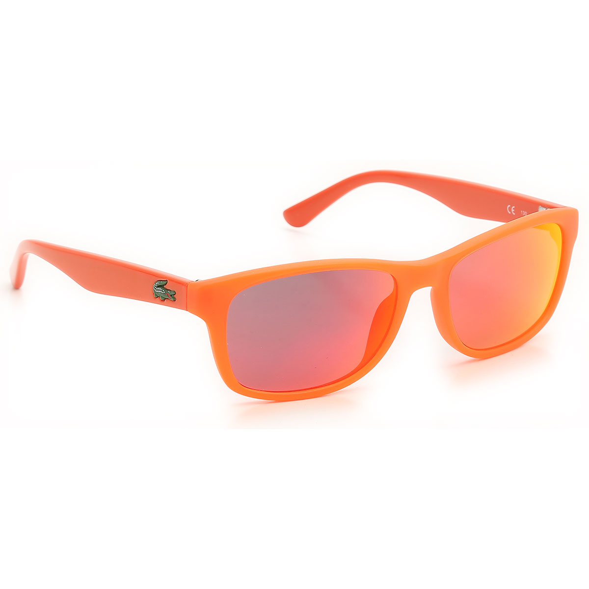 Image of Lacoste Kids Sunglasses for Boys On Sale, Matt Fluo Orange, 2017