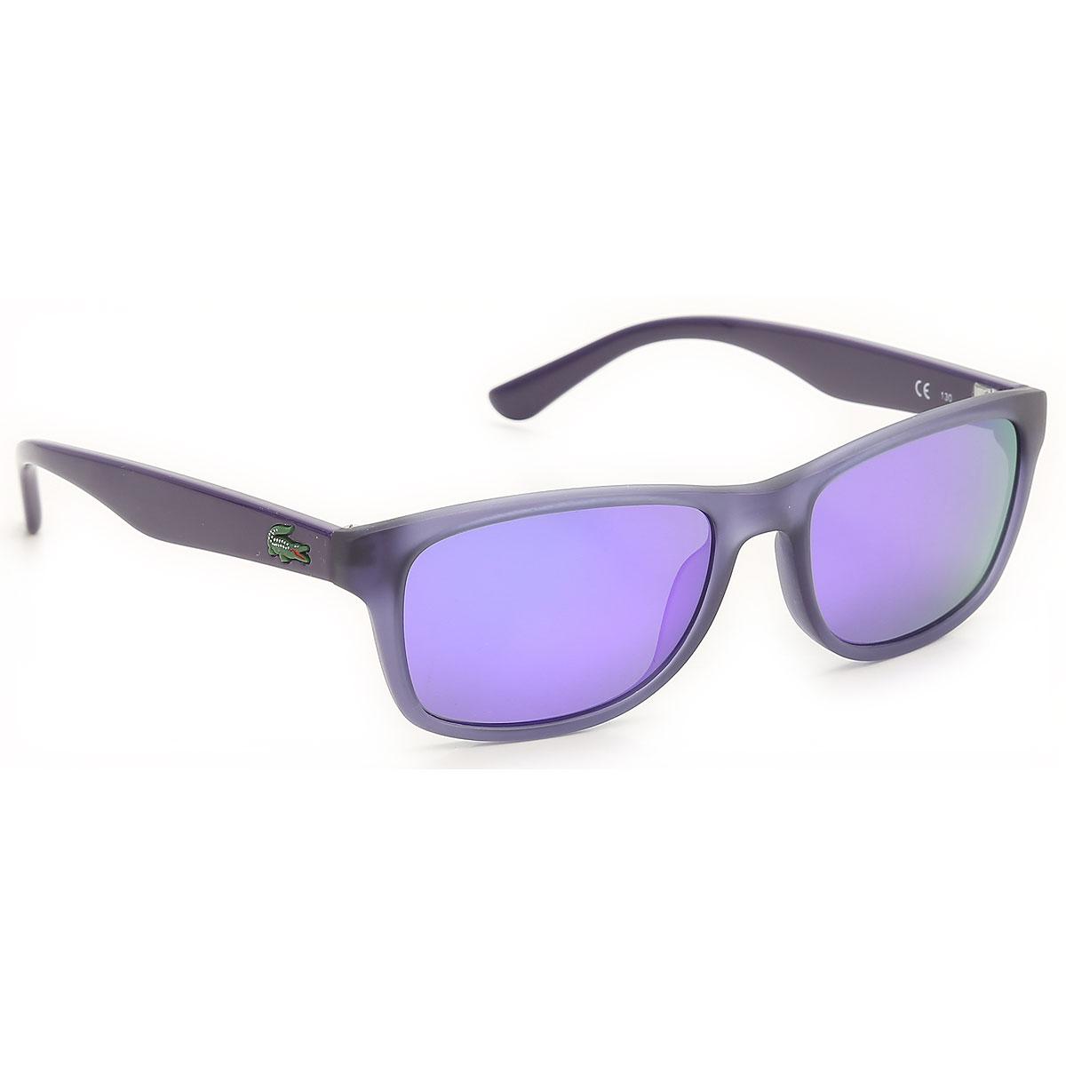 Image of Lacoste Kids Sunglasses for Girls On Sale, Matt Transparent Violet, 2017