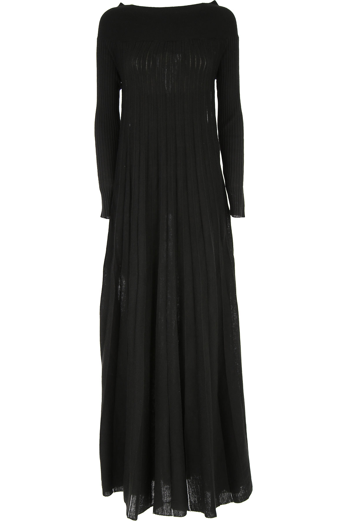 Lautre Chose Dress for Women, Evening Cocktail Party On Sale, Black, Wool, 2019, 4 6