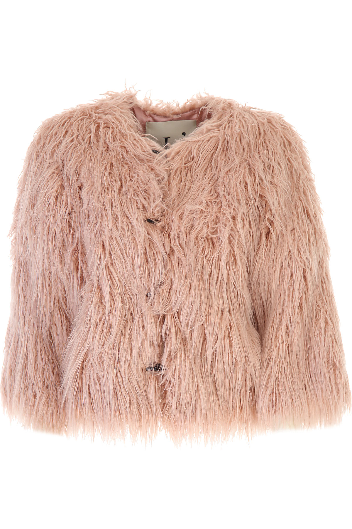 Lautre Chose Jacket for Women On Sale, Pink, modacrylic, 2019, 4 6
