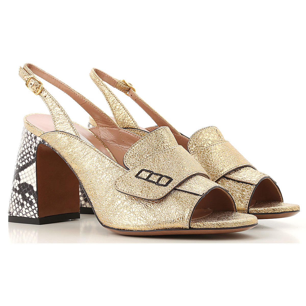 Lautre Chose Sandals for Women On Sale in Outlet, Bronze, Leather, 2019, 10 6 6.5