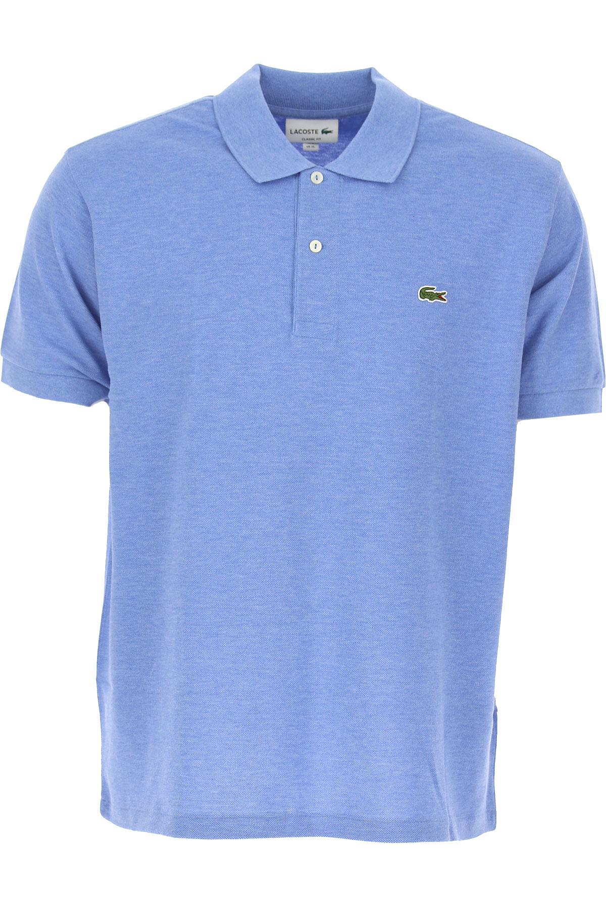 lowest price 9841e 8e680 Lacoste Polo Shirt For Men, Blue, Cotton, 2017, L M S XL XXL