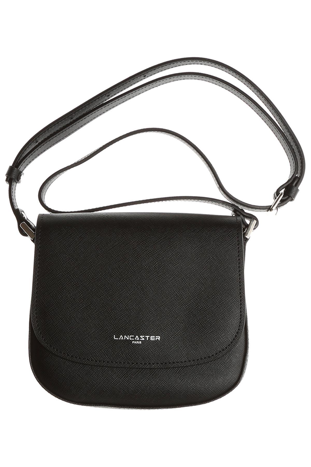 Image of Lancaster Shoulder Bag for Women, Black, Leather, 2017
