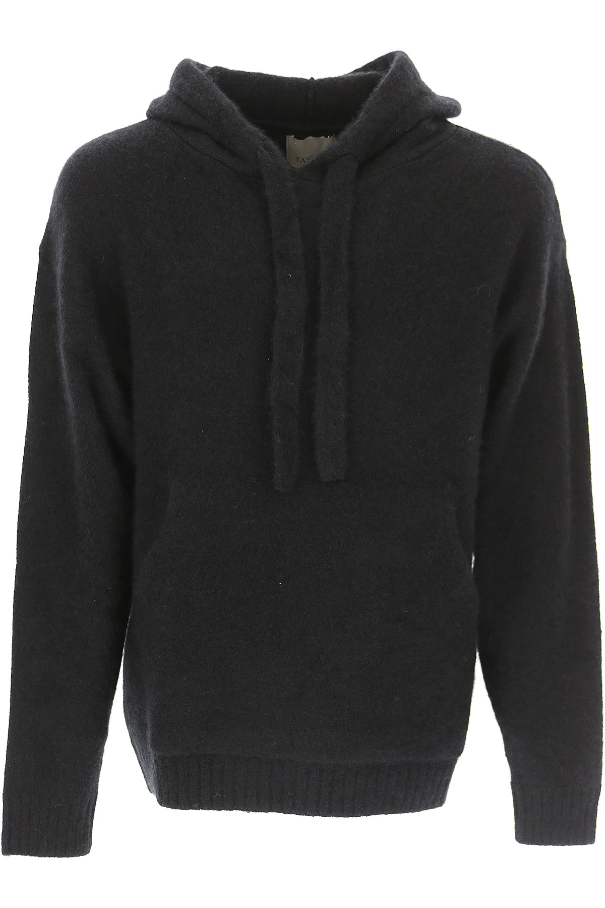 Image of Laneus Sweater for Men Jumper, Black, Cashmere, 2017, L M S XL