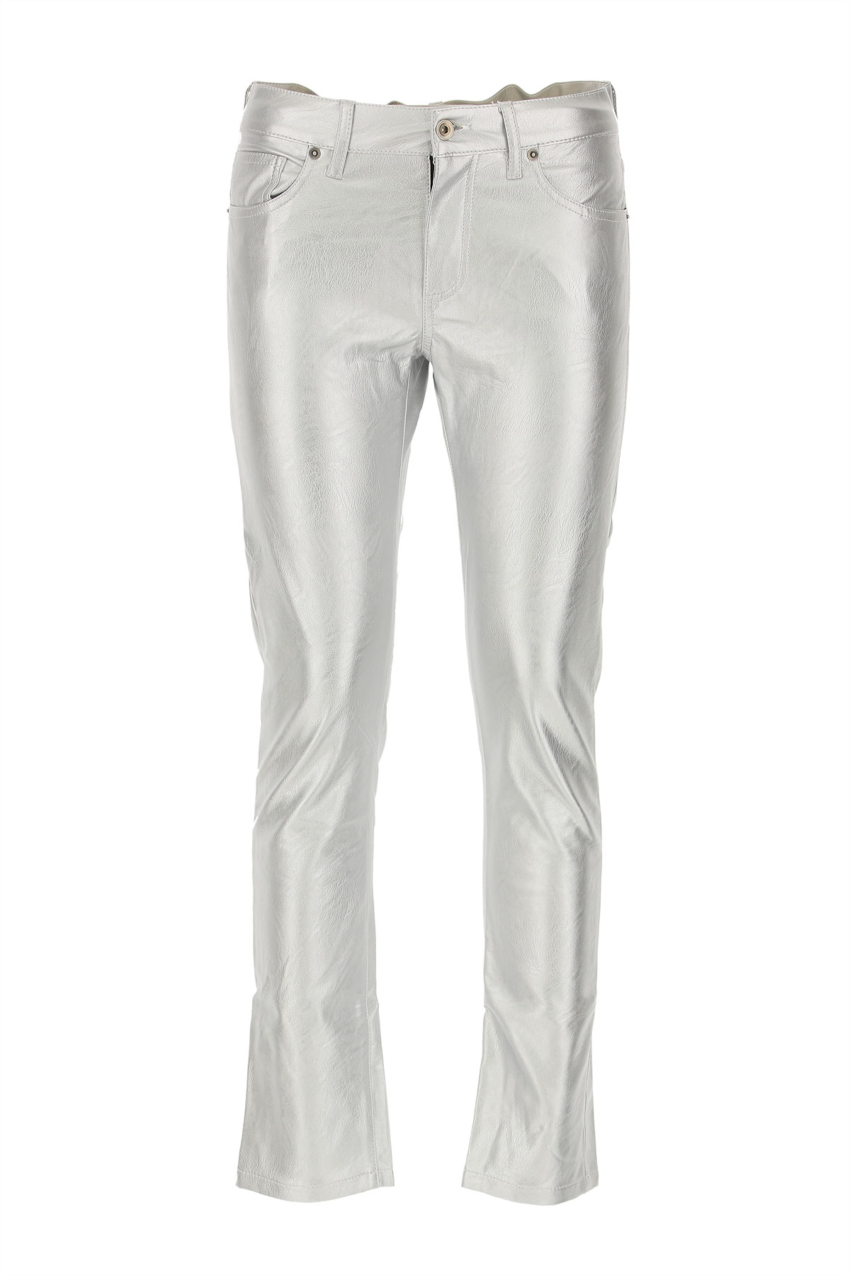 Image of Laneus Pants for Women, Silver, polyester, 2017, 26 30