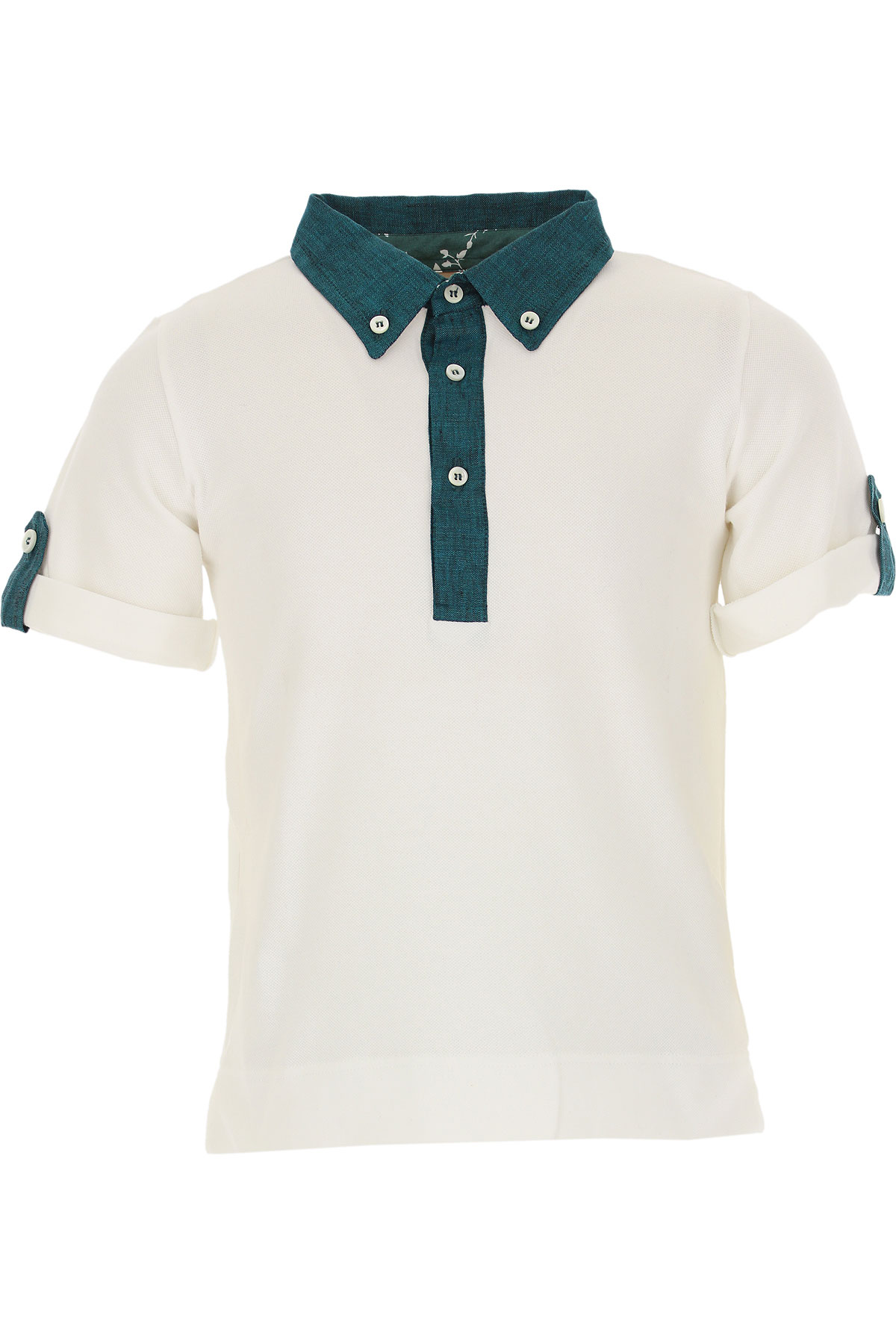 La Stupenderia Kids Polo Shirt for Boys On Sale in Outlet, White, Cotton, 2019, 2Y 4Y