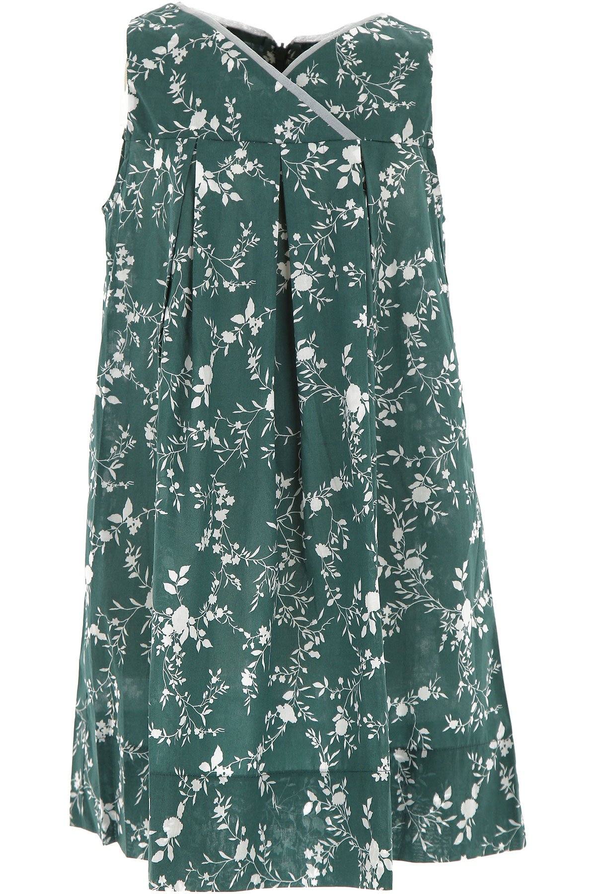 La Stupenderia Girls Dress On Sale In Outlet, Green, Cotton, 2019, 2Y 6Y