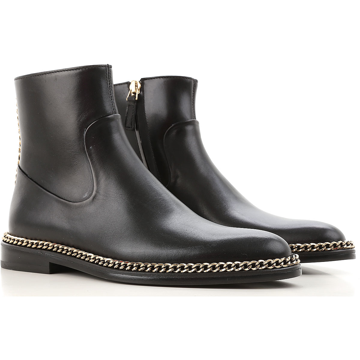 Lanvin Boots for Women, Booties On Sale in Outlet, Black, Leather, 2019, 5 8 8.5 9