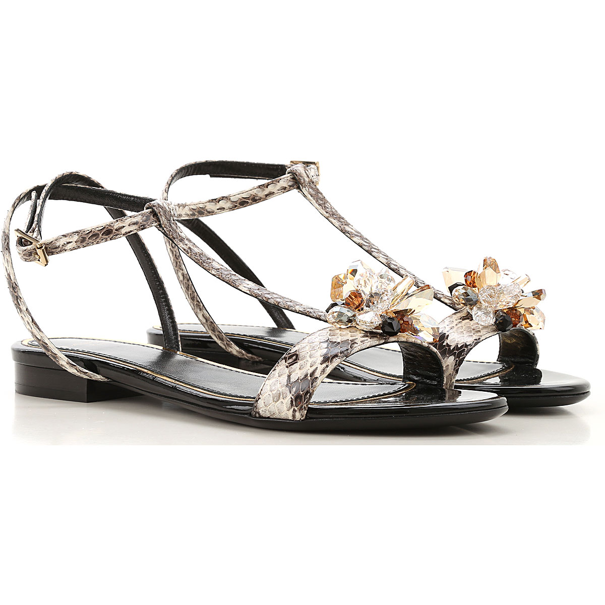 Lanvin Sandals for Women On Sale in Outlet, Ivory, Leather, 2019, 6 8 9