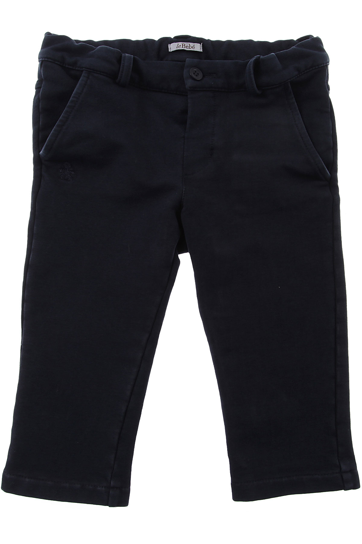 Image of Le Bebe Baby Pants for Boys, Blue, Cotton, 2017, 12M 18M 3M 6M 9M