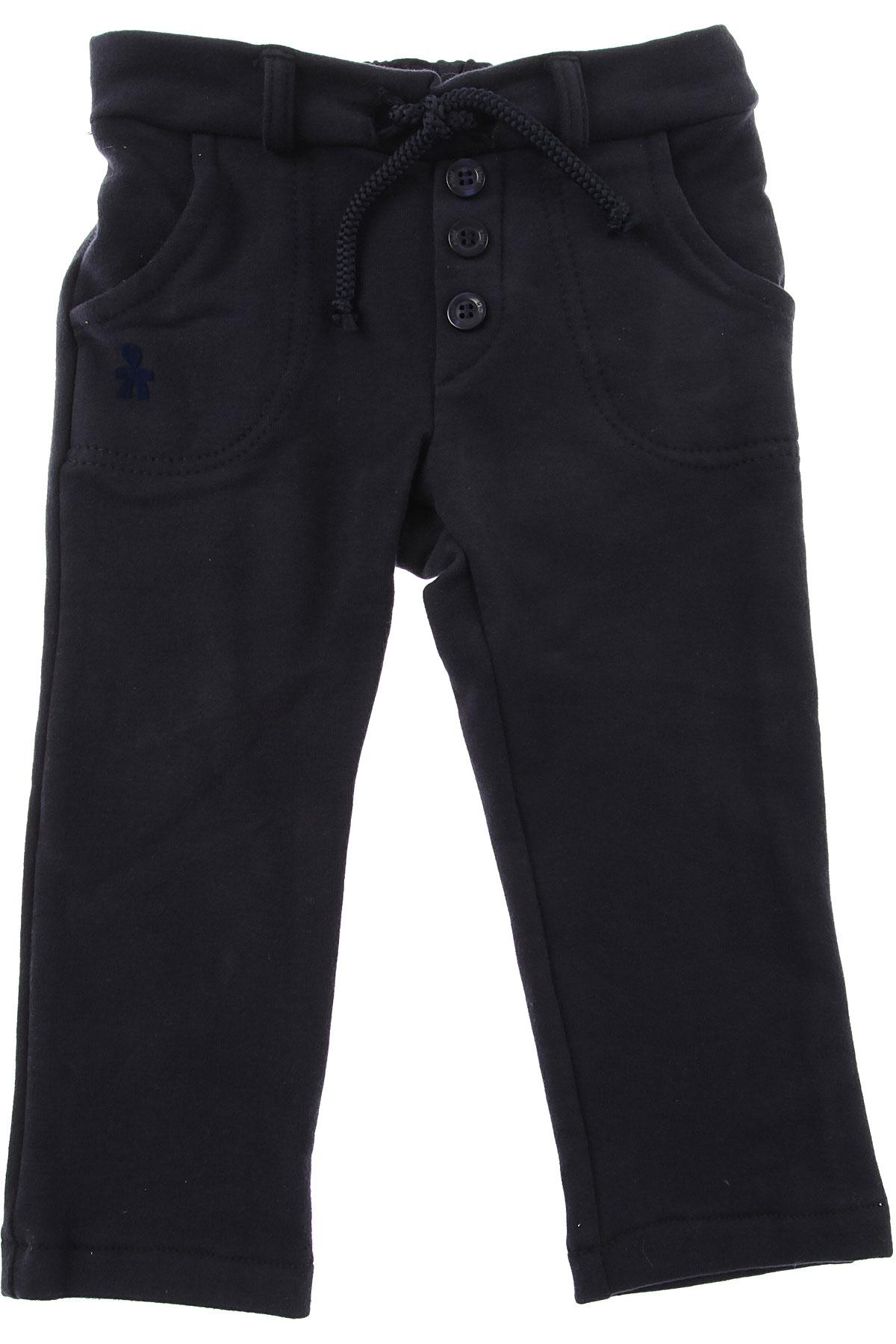 Image of Le Bebe Baby Pants for Girls, Blue, Cotton, 2017, 12M 18M 6M 9M