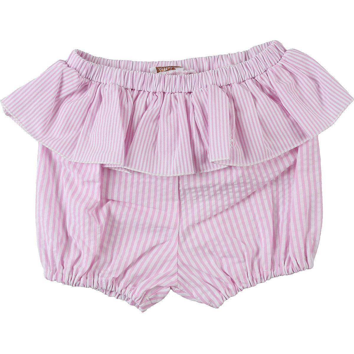 Le Bebe Baby Shorts for Girls, White, Cotton, 2019, 12M 18M 9M