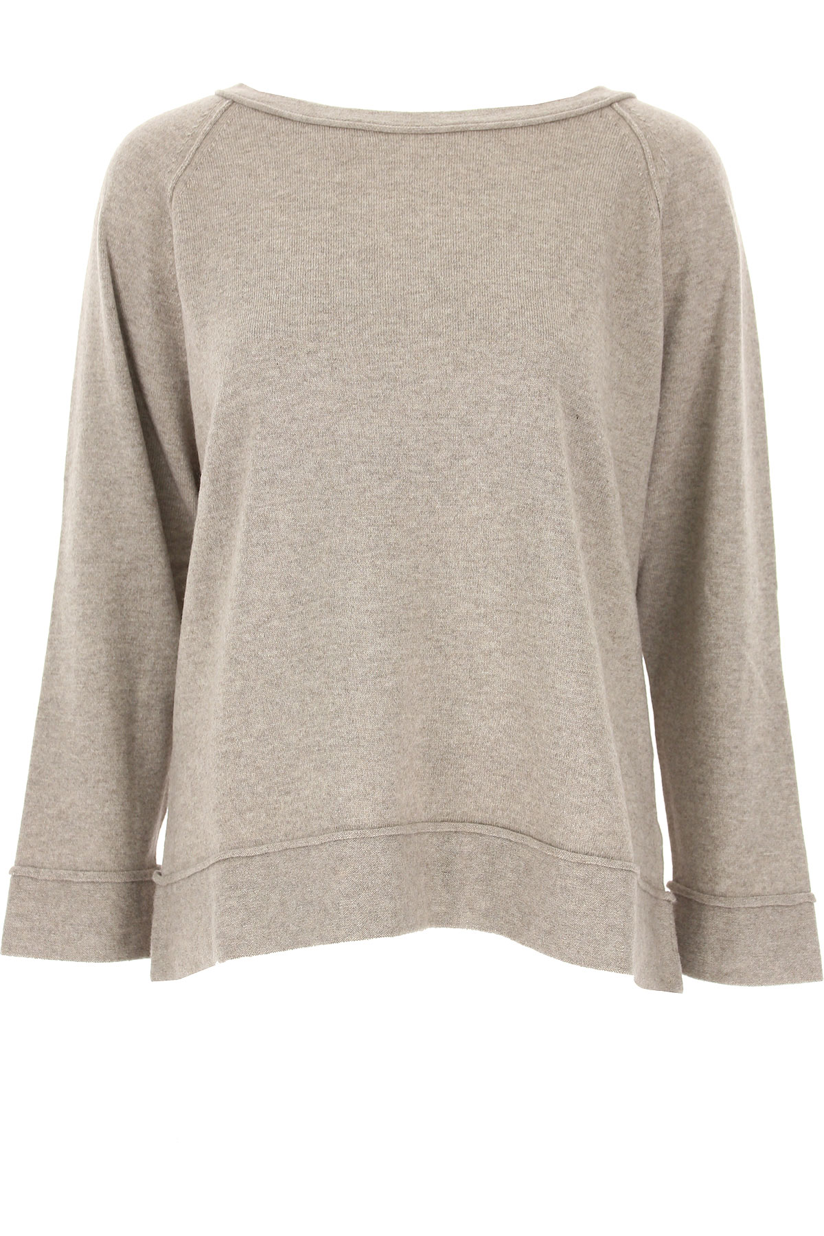 Image of Lamberto Losani Sweater for Women Jumper, Taupe, Virgin wool, 2017, 2 4 6