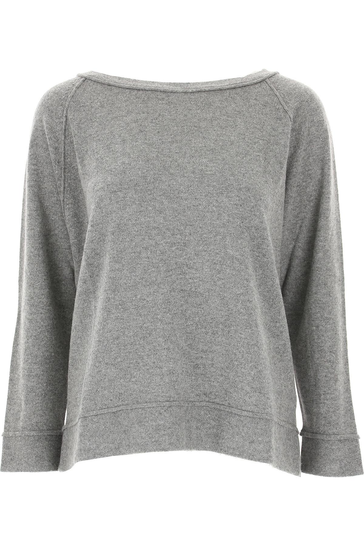 Image of Lamberto Losani Sweater for Women Jumper, Grey, Virgin wool, 2017, 4 8