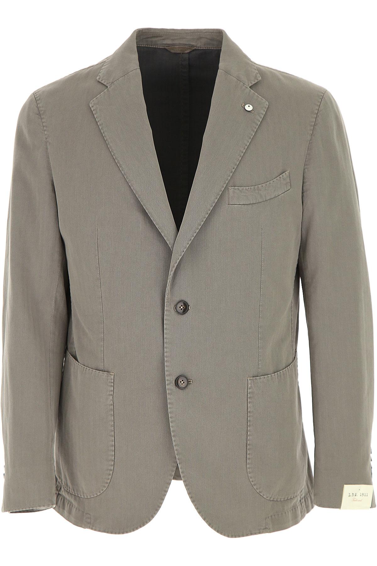 L.B.M. 1911 Blazer Homme, Veste Sport, Tortue, Coton, 2017, M XL