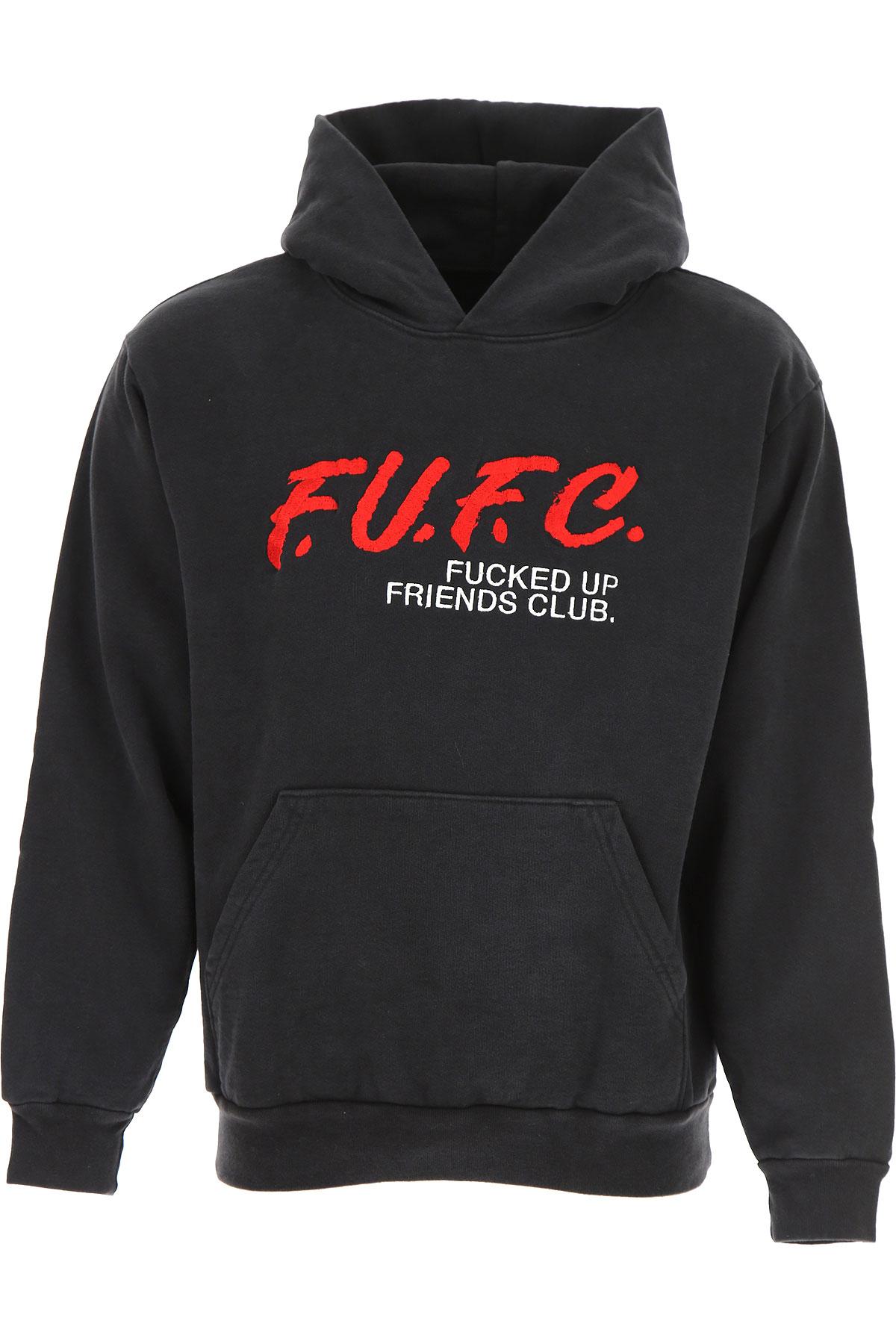 Image of Local Authority Sweatshirt for Men, Black, Cotton, 2017, 2 - Uk/Usa M - Ita 48 3 - Uk/Usa L - Ita 50