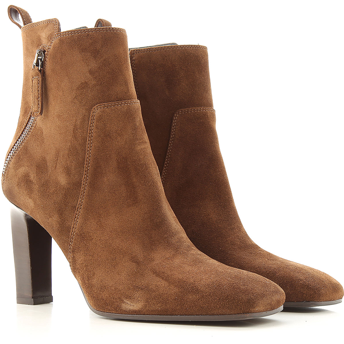 Lella Baldi Boots for Women, Booties On Sale, Brown, Suede leather, 2019, 6 7 8