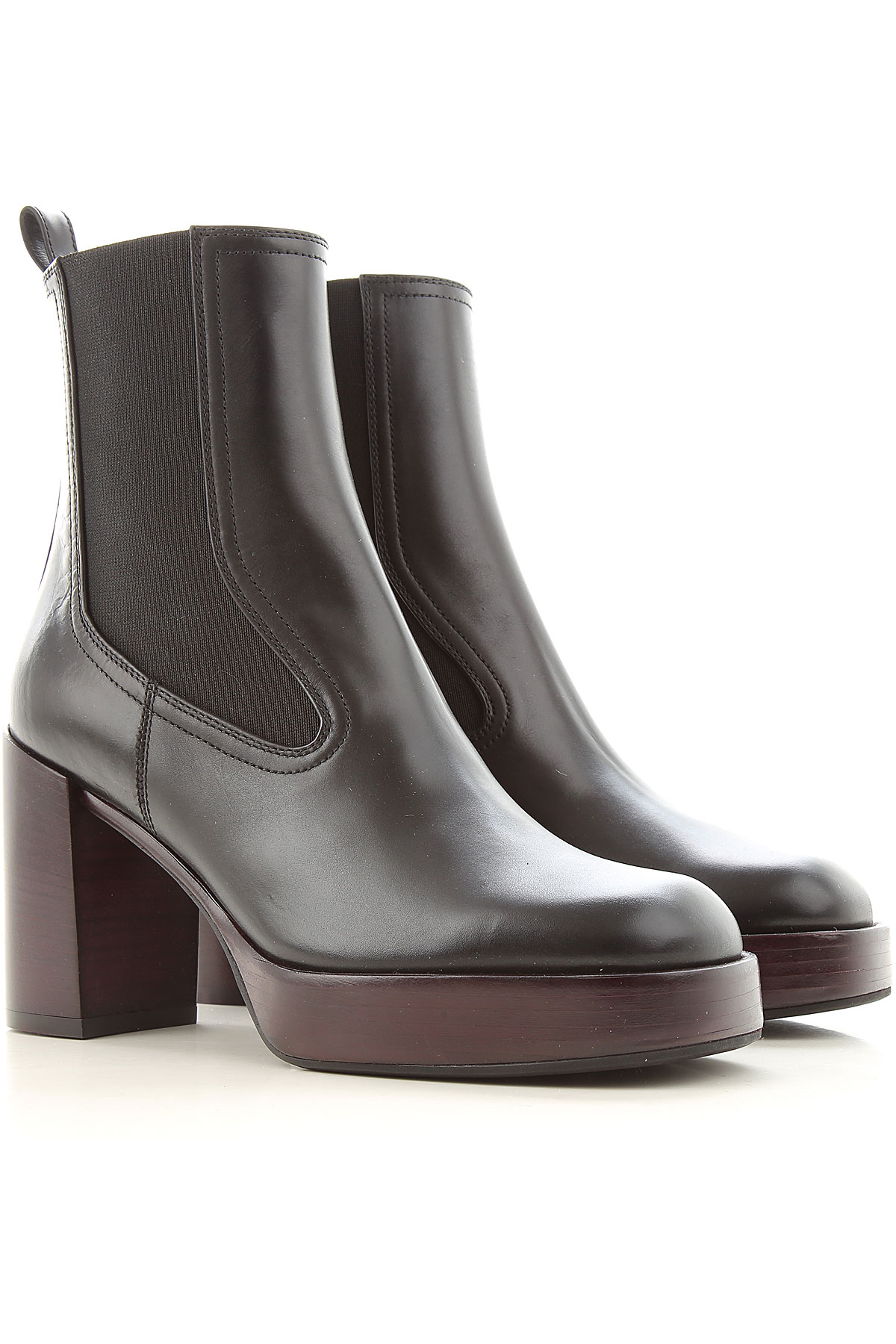 Lella Baldi Boots for Women, Booties On Sale, Black, Leather, 2019, 6 7