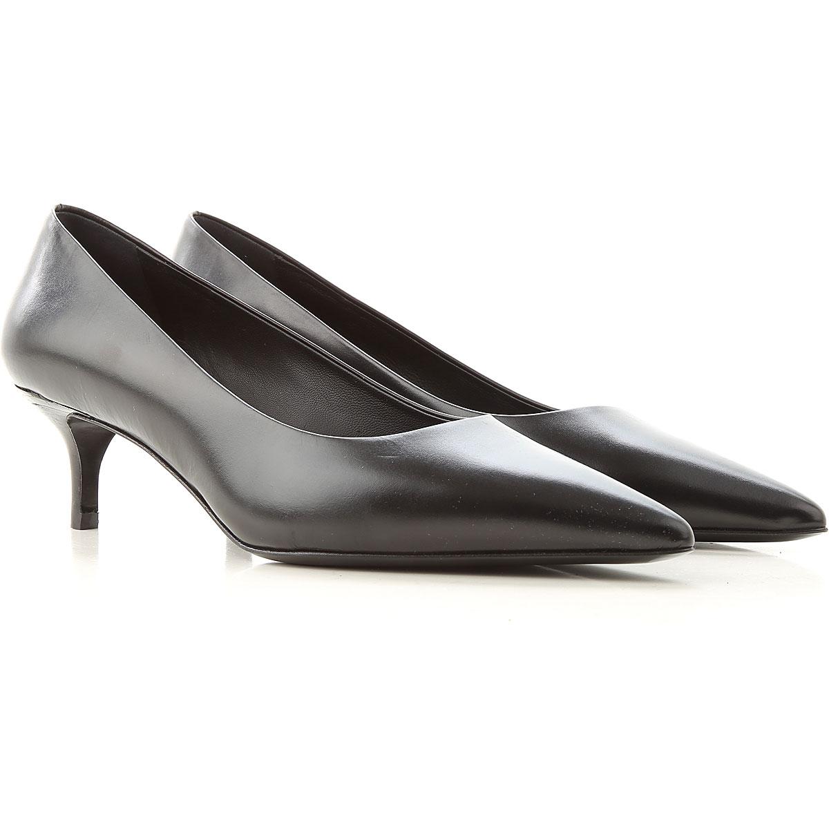 Lella Baldi Pumps & High Heels for Women On Sale, Black, Leather, 2019, 10 6 7 8 9