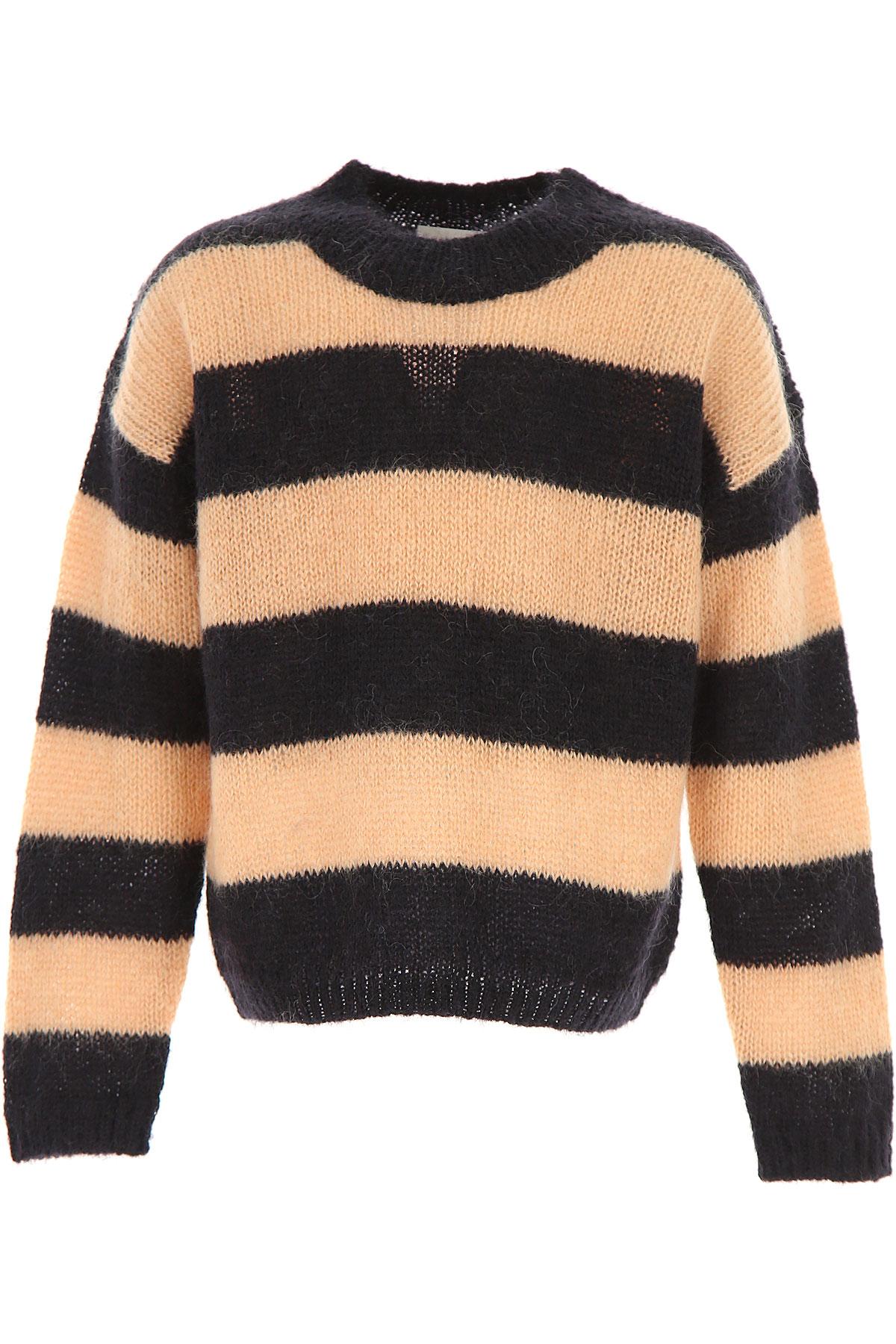 Image of Les Coyotes De Paris Kids Sweaters for Girls, Black, Kid mohair, 2017, 10Y 14Y 8Y
