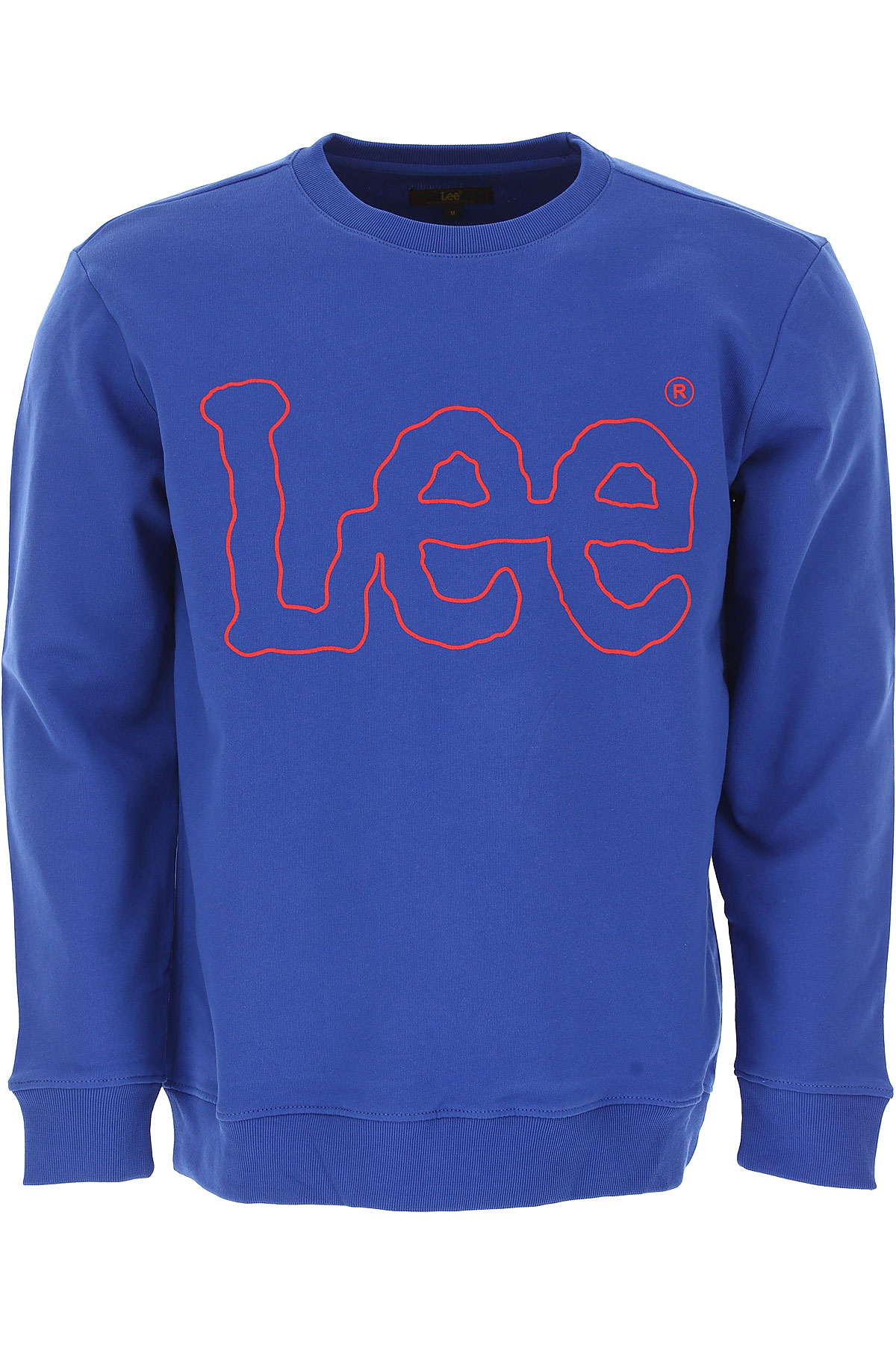 Lee Sweatshirt for Men, Bluette, Cotton, 2017, L M S XL XXL USA-440047