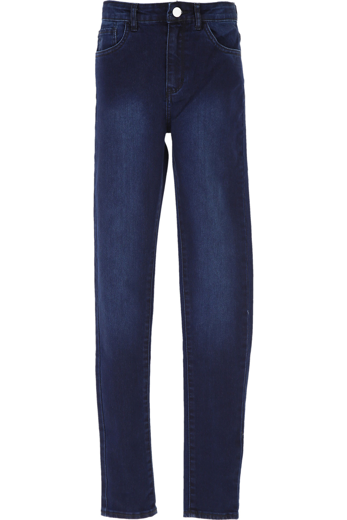 Levis Kids Jeans for Girls On Sale, Dark Blue Denim, Cotton, 2019, 10Y 12Y 14Y 16Y