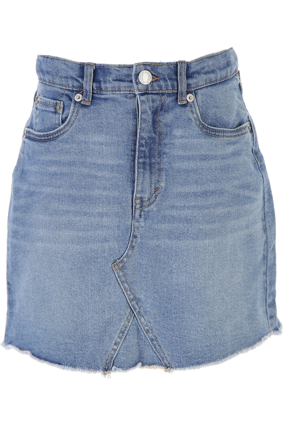 Levis Kids Skirts for Girls On Sale, Skyblue, Cotton, 2019, 10Y 12Y 14Y 16Y 4Y 5Y 6Y 8Y