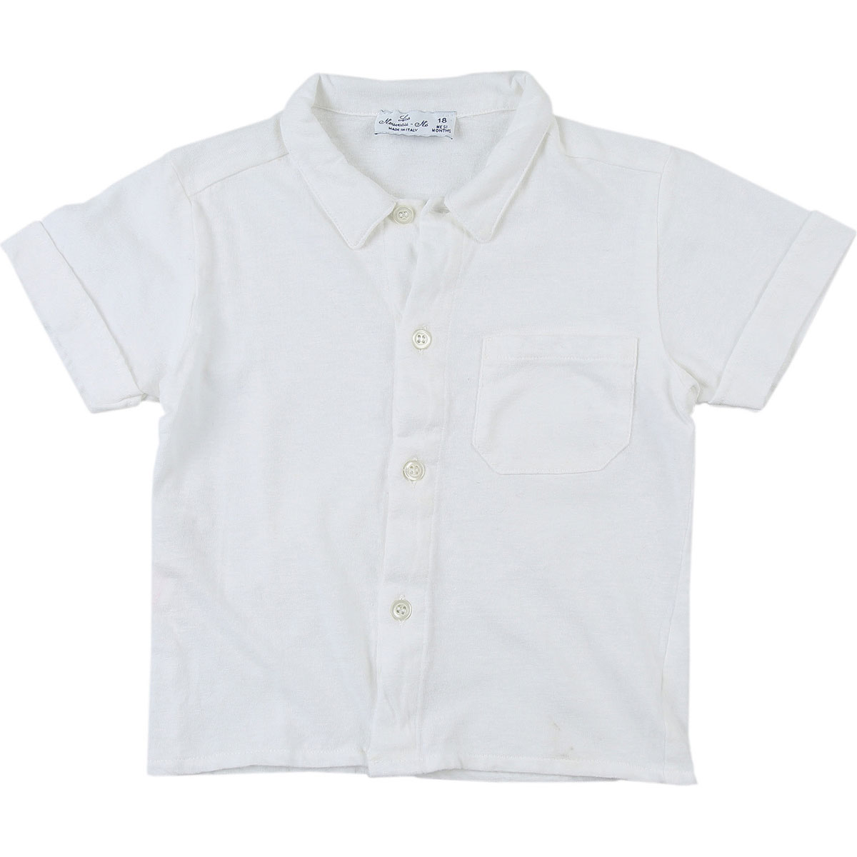 Le Nouveau Ne Baby Shirts for Boys On Sale in Outlet, White, Cotton, 2019, 18M 2Y