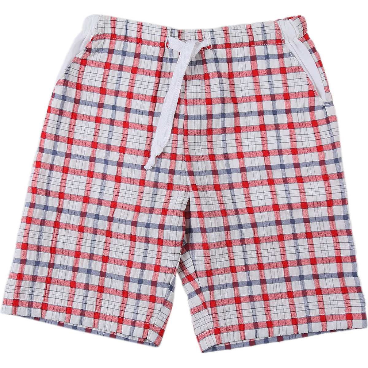 Le Nouveau Ne Baby Shorts for Boys On Sale in Outlet, White, polyester, 2019, 12 M 3M