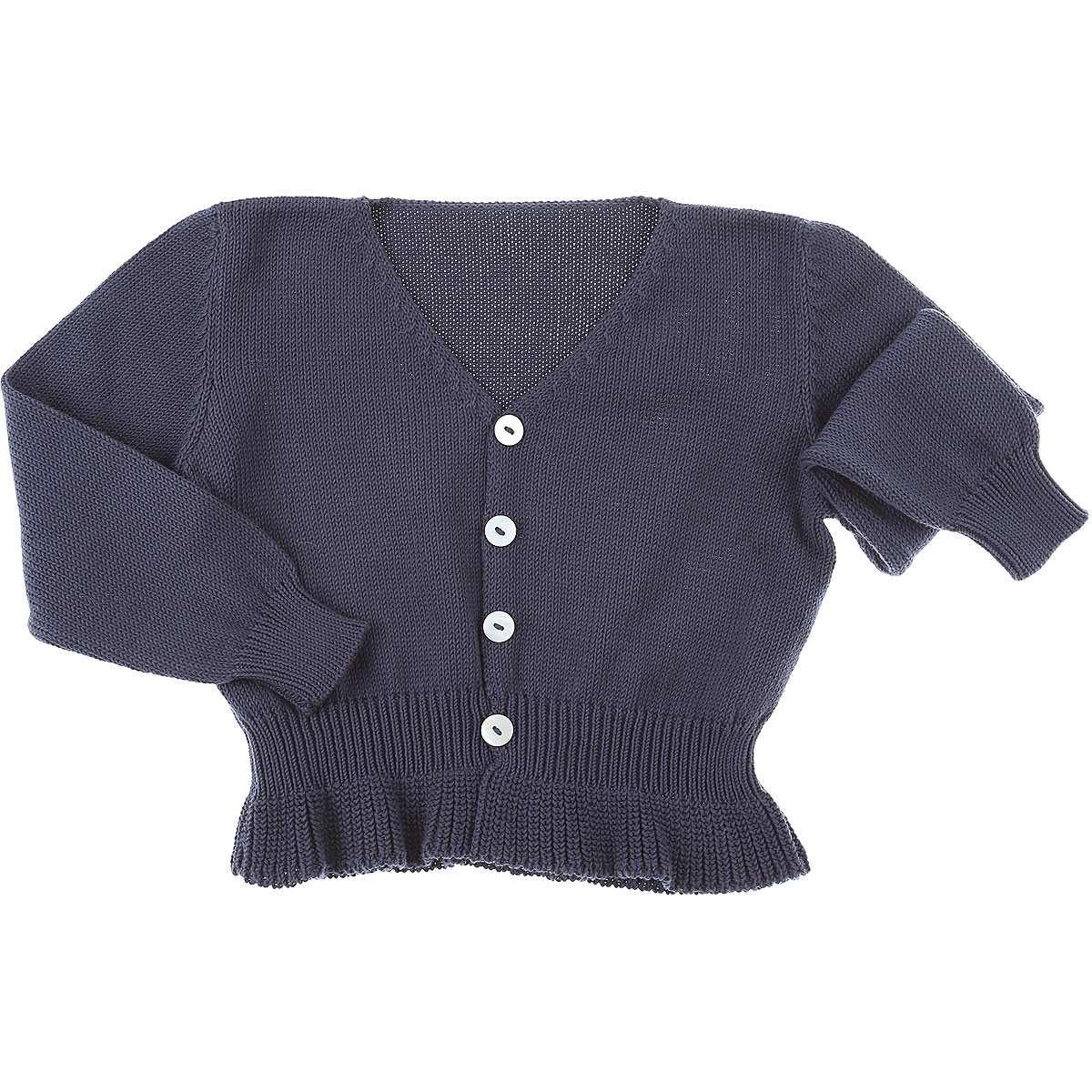 Le Nouveau Ne Baby Sweaters for Girls On Sale in Outlet, Blue, Cotton, 2019, 3Y 4Y